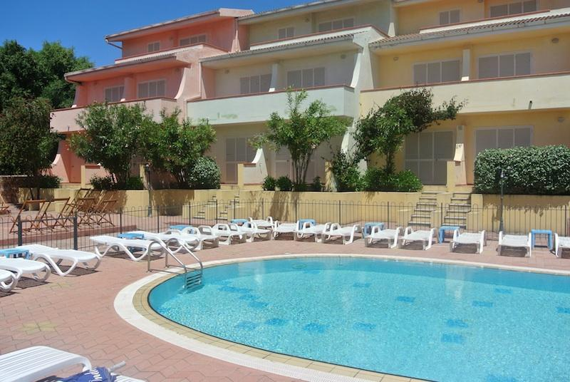 Fantastic one bedroom apartment with swimming pool - Image 1 - Nuxis - rentals