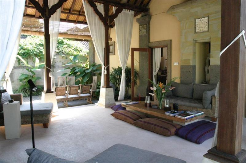 Outdoor Living Room (Here you will be most...) - Our Beautiful and Cozy Home in Bali...! - Sanur - rentals