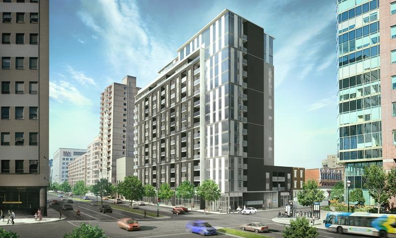 Building - Montreal Downtown Quartier Latin District Condo - Montreal - rentals
