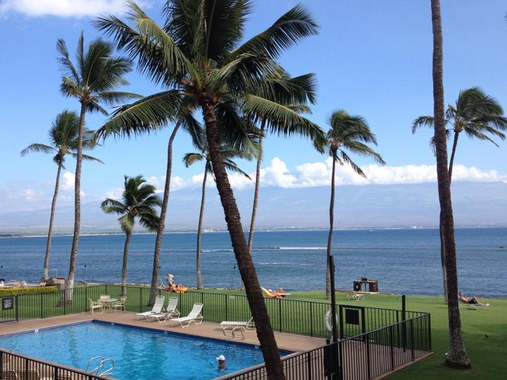 View from Lanai - Extraordinary Oceanfront View 2 BR in Maalaea Bay - Maalaea - rentals