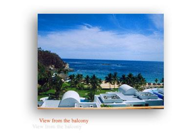 View from the balconies - BEAUTIFUL CONDO HUATULCO WITH OCEAN VIEW - Tangolunda - rentals