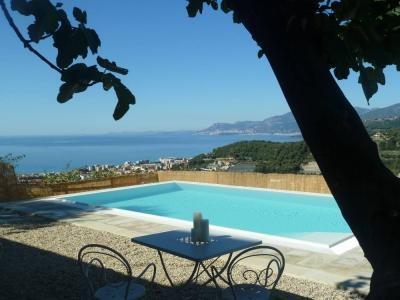 Beautiful villa with swimming pool and sea view - Image 1 - Bordighera - rentals