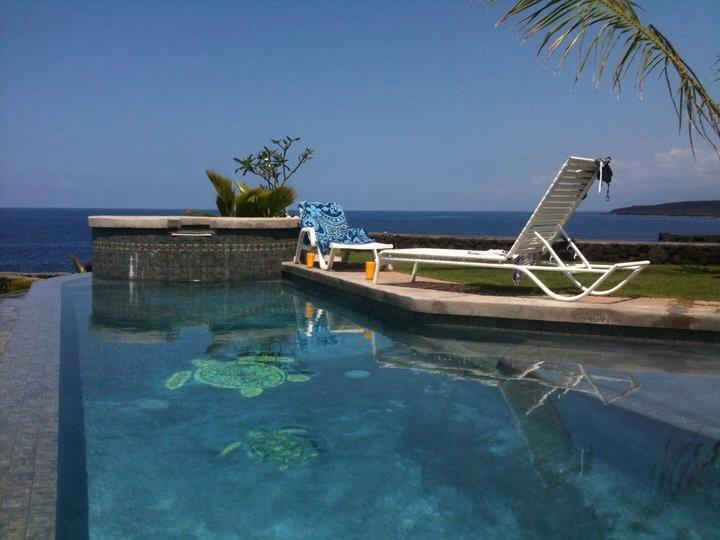 Poolside - The Cove at Milolii - Captain Cook - rentals