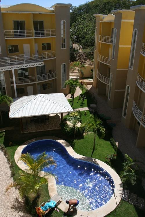 View from the balcony - Tamarindo 2 Bedroom condo close to the beach - Santa Ana - rentals