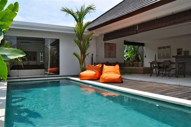 the view from pool - Villa Kamboja Bidadari ( 2 bedroom ) - Denpasar - rentals