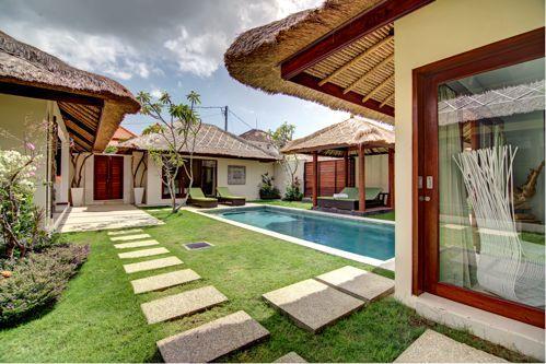 garden view and pool - Luxurious Traditional Semi Modern Umalas Villa - Seminyak - rentals