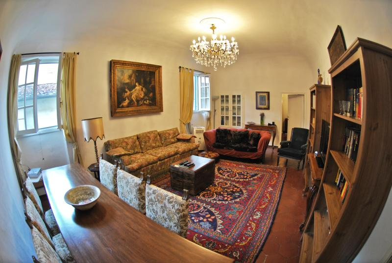 Living room - Florence Centrum - Apartment Casa Tacconi - Florence - rentals