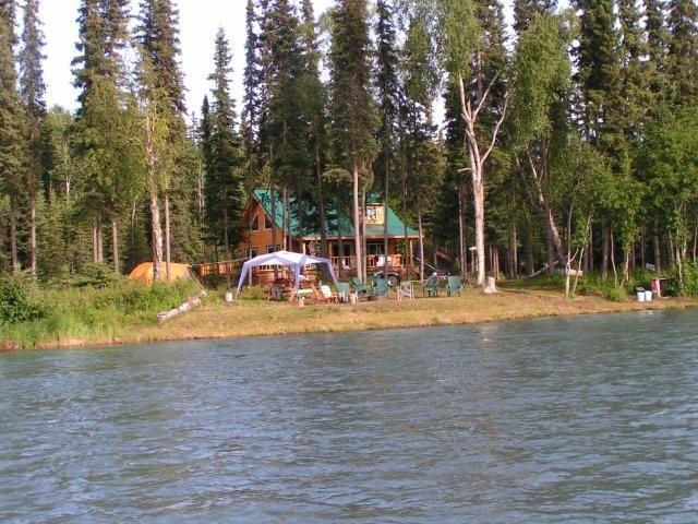 Kenai River Cabin For Rent with Shore Fishing  - Kenai River Rental Cabins at Sterling, Alaska - Sterling - rentals
