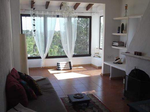 living - EL VAIXELL - Cala Mondrago - rentals