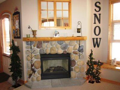 Fireplace - Crystal Forest Condos - CF27 - 451 - Sun Peaks - rentals
