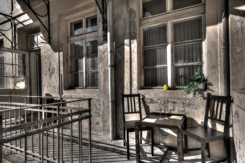 outside terace - Ostrovni Apartment - Prague - rentals