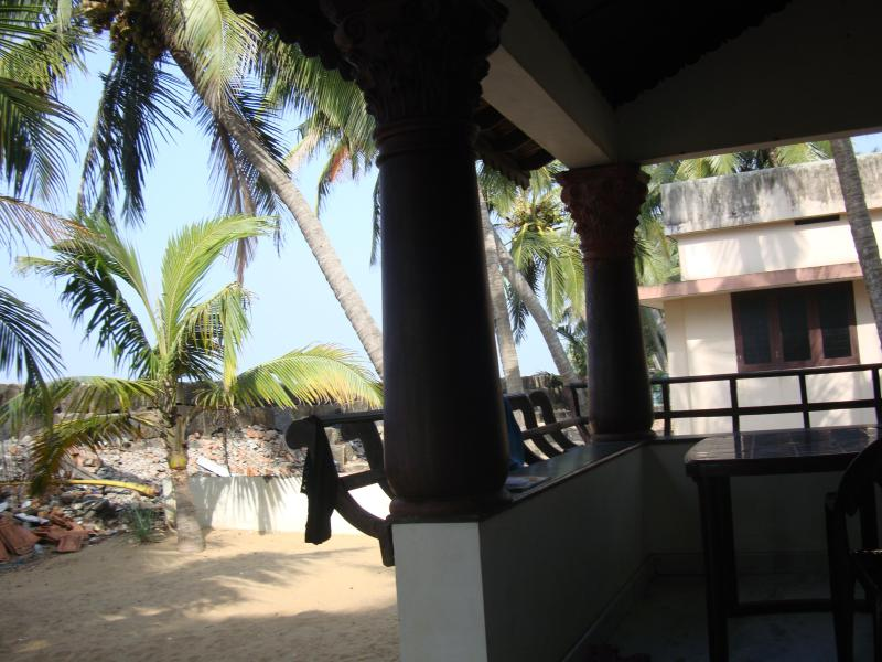 View from Front Area - Self Service Cottage  (Beach) - Kochi - rentals