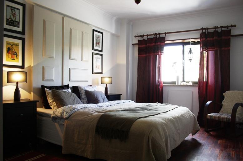 Bedroom double bed - Perfect spot for seeing Lisbon and enjoy its coast - Oeiras - rentals
