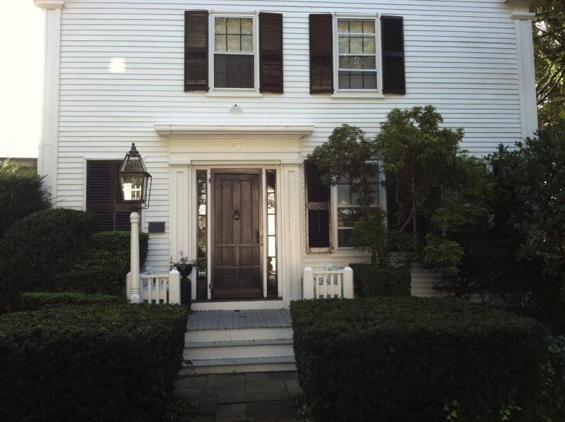Front Entrance - Historic Landmark Colonial in Heart of Edgartown - Edgartown - rentals