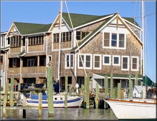 D101: Down Creek Condo Unit D101 - Harbor View - Image 1 - Ocracoke - rentals