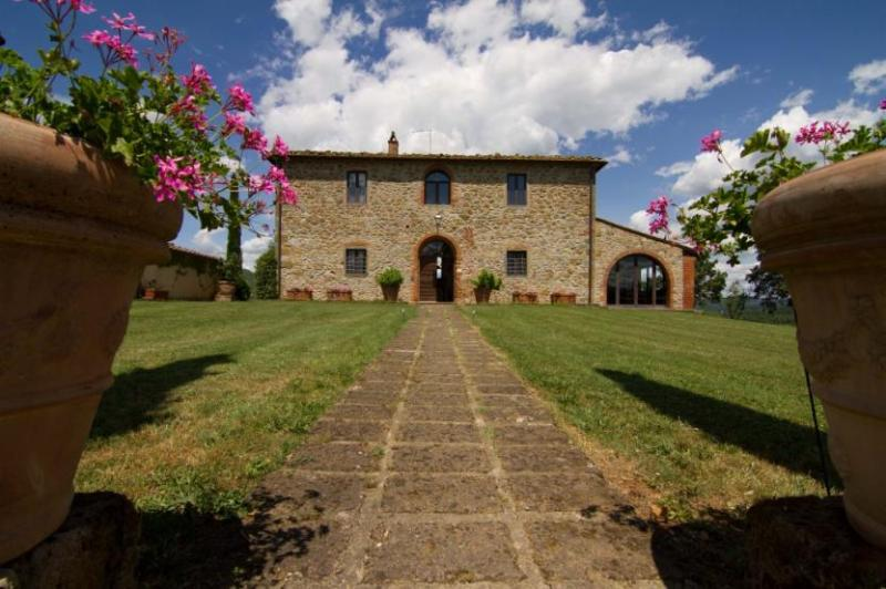 View of the Beautiful Villa Monte 2 - Villa Monte 2 - Bucine - rentals