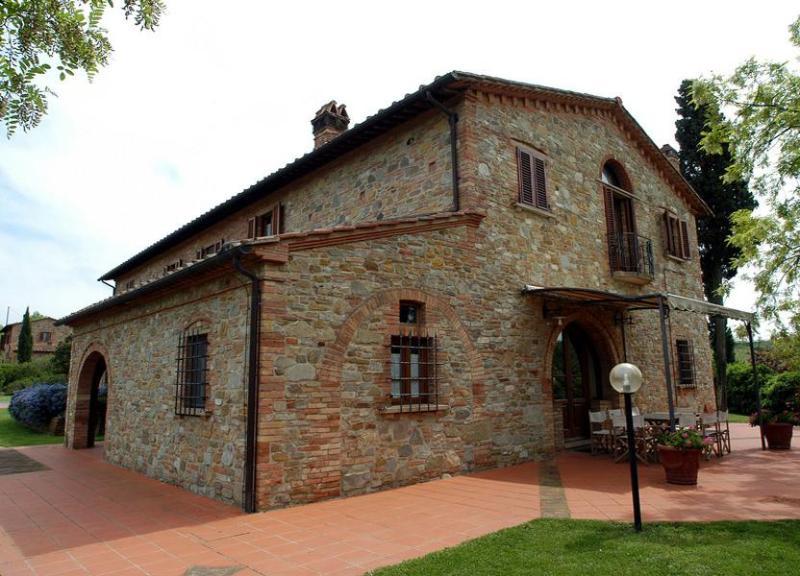 Main view of the Villa di Giacomo - Villa di Giacomo - Montaione - rentals