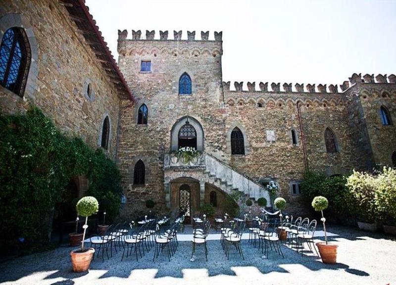 Over view of villa IL Borgia - Castle Il Campo di Sopra - Arezzo - rentals