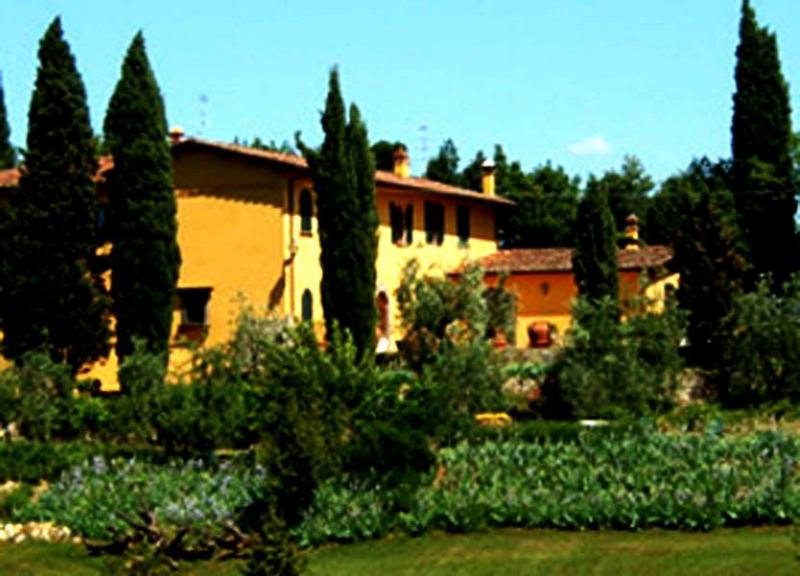 Main view of the Villa Michelangelo - Villa Michelangelo - Lastra a Signa - rentals