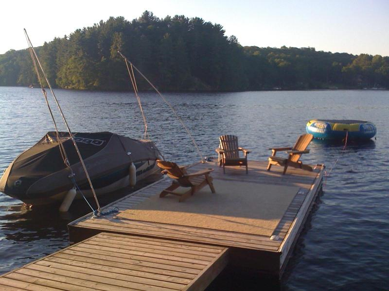 ON THE DOCK - Cottage in Muskoka-Lake Vernon Huntsville - Huntsville - rentals