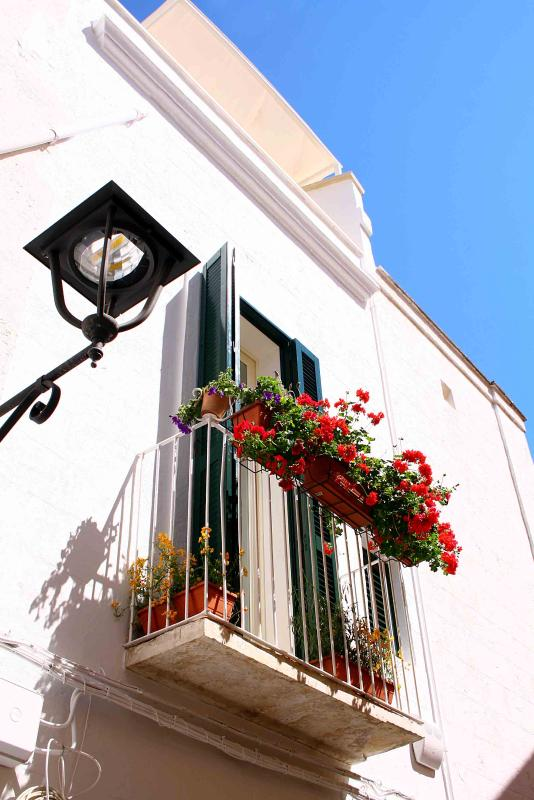 Libeccio Balcony - Traditional Fasanese Style House in the old city - Torre Canne di Fasano - rentals