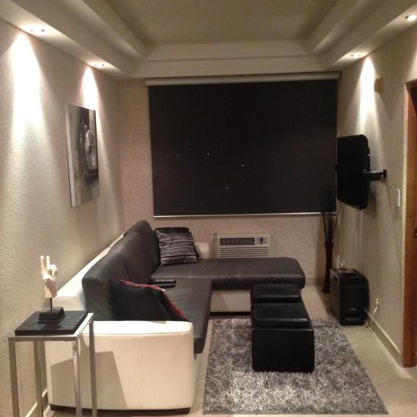 living room with, home theater, Lcd, sofa, etc. - Luxury aparment for vacation and holidays in San Juan - San Juan - rentals