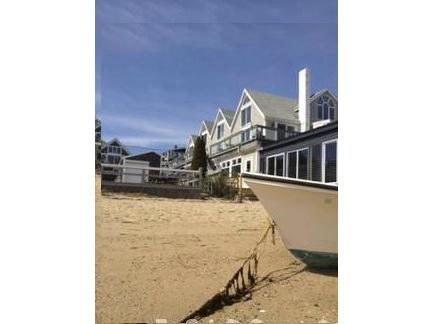 View up from the beach - 1 BR Panoramic Beach Front ★2 Floors★Downtown★ A/C - Provincetown - rentals