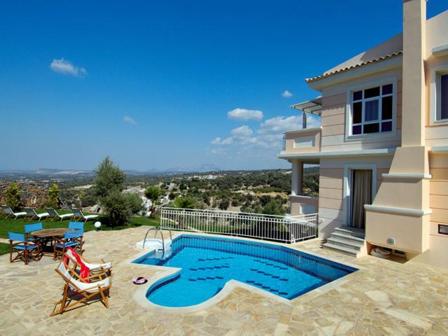 5 Bedroom Villa in Rethymno - Image 1 - Rethymnon - rentals