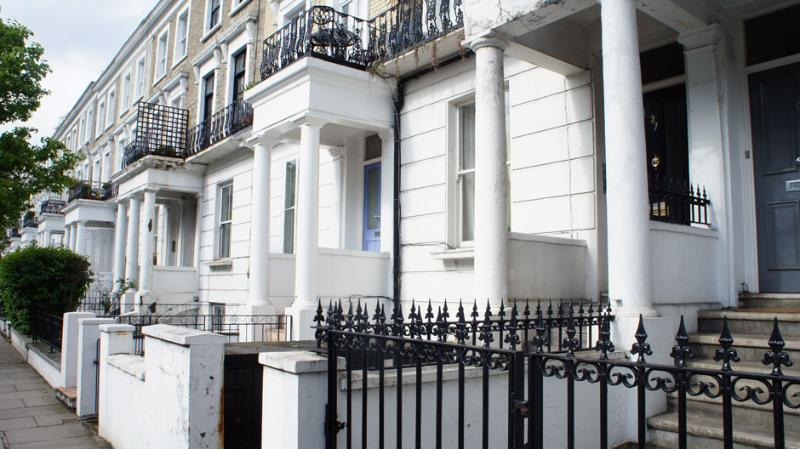Facade - The Colombian Apartment - London - rentals