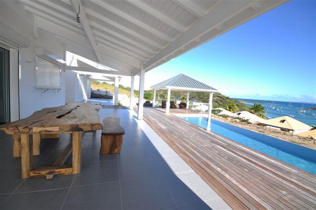 Beautifull Villa 4 Bedrooms / Pool - Sea ViewPINEL - Image 1 - Orient Bay - rentals