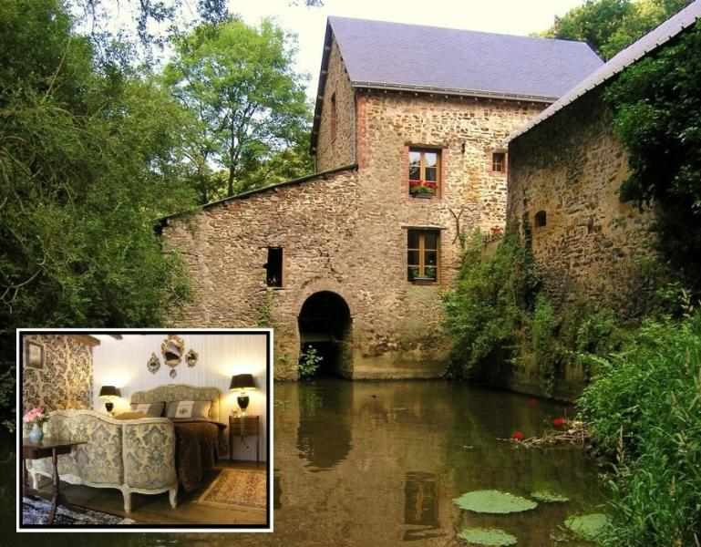 B&B in old watermill. Two rooms for 2 persons. - B&B and Cottage in old watermill - Craon - rentals