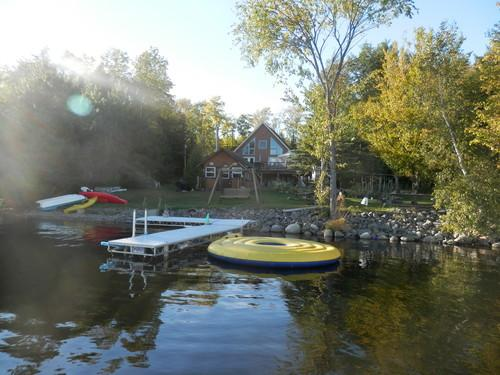 Lake front with all the toys to play with - Center of Maine Mobile Home (Lake Property) - Lincoln - rentals