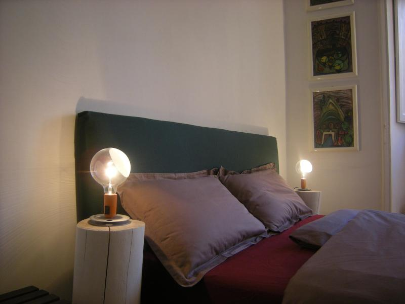 Green bedroom - Design Apartment Colosseo - Rome - rentals