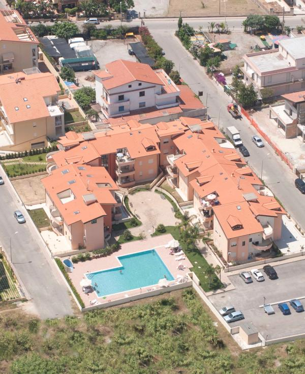 Aerial view of complex - Sabbia di Marinella - Pizzo - rentals