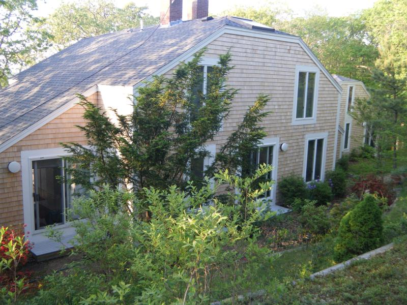 Spacious, Award Winning Design, Nestled in the Hills of Chilmark - Striking 5BR/4BA Chilmark Contemporary with Views of the Sound - Chilmark - rentals