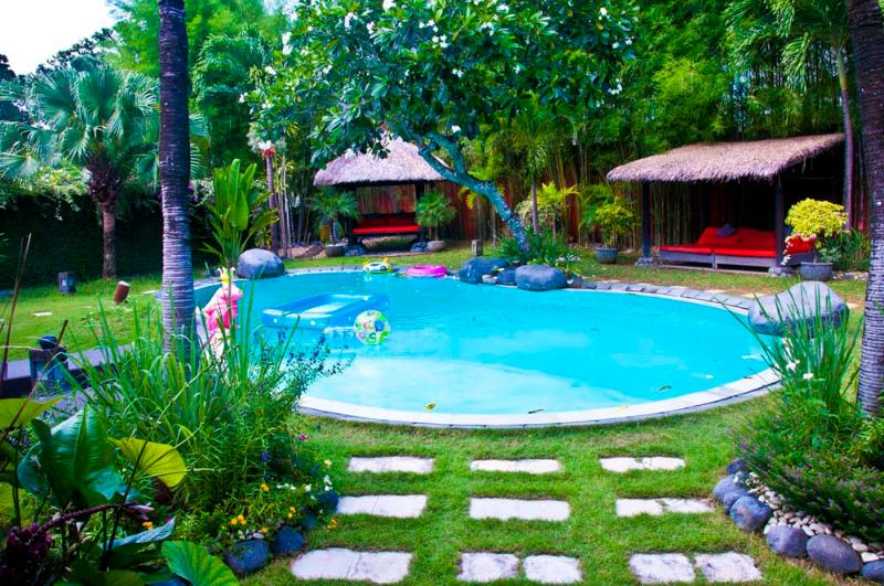 beautiful villa 3 rooms on a plot 1000 m2 to umalas - Image 1 - Seminyak - rentals