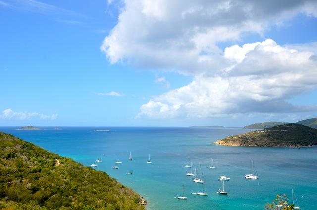 caribbean views from sun porch - View Seven Islands from Chateau Monroe - Water Island - rentals
