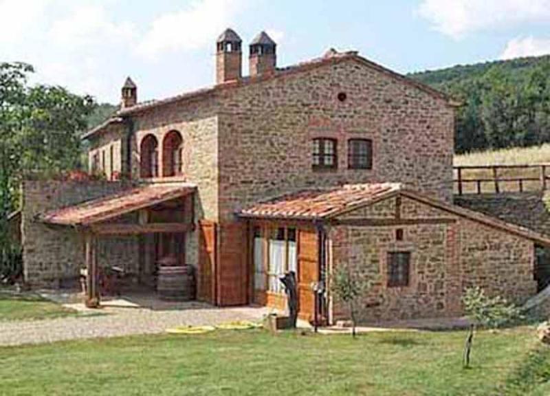 View of villa Antico Podere - Villa Antico Podere - Arezzo - rentals