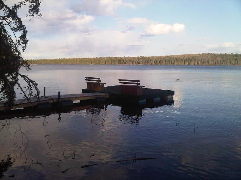Private Dock on McPhee Lake (Note:  cottage is not waterfront) - Comfortable Cottage Getaway near Waskesiu - Waskesiu - rentals