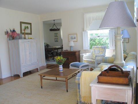 Living room - 13 meadow lane - Nantucket - rentals