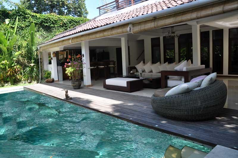 Beautiful 3 rooms villa very quiet on seminyak - Image 1 - Seminyak - rentals