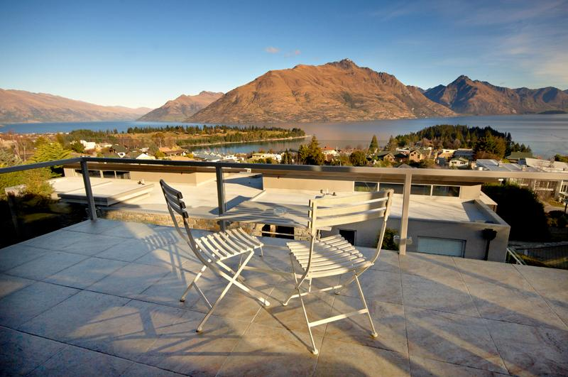 Main Balcony View - Ravello - Queenstown - rentals