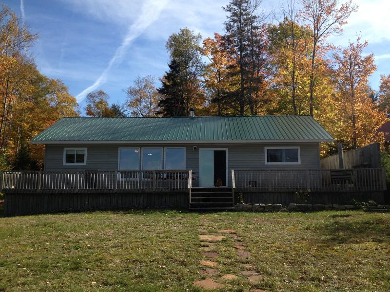Outside Cottage View - Superior Beachfront Cottages - Goulais River - rentals