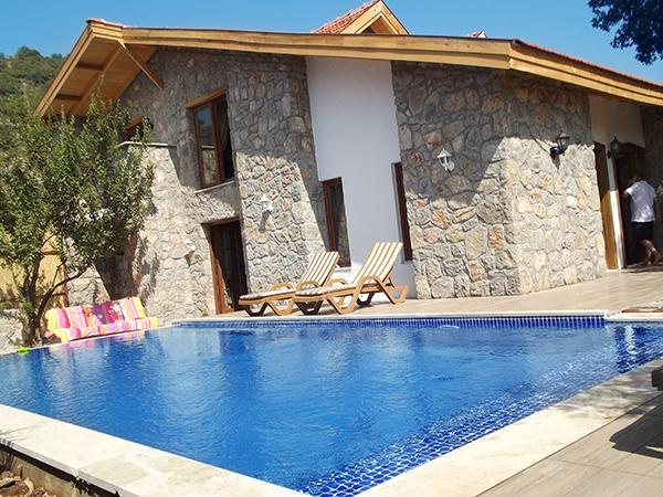 Beautifully landscaped garden with private swimming pool - Villa Makri Kayaköy 2 - Fethiye - rentals