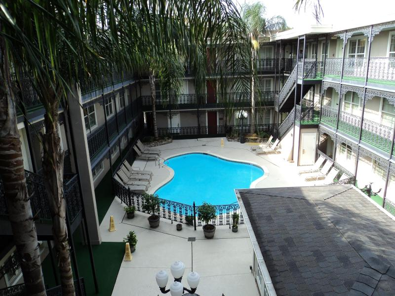View of the pool - GREAT LITTLE GEM in the SUBURBS (Metairie) - Metairie - rentals