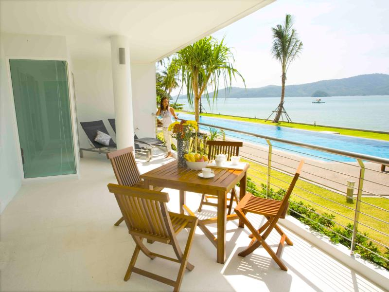 Phuket beachfront suites -3B/R direct pool access - Image 1 - Chalong Bay - rentals