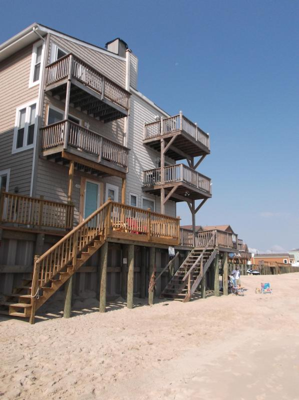 View from Beach - BEACHFRONT - $1M views and Private Beach Access - Virginia Beach - rentals