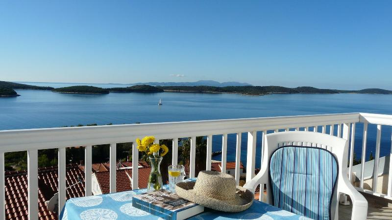 Catching some sun - Sea to Sky Views in this Hvar Town Apartment - Hvar - rentals