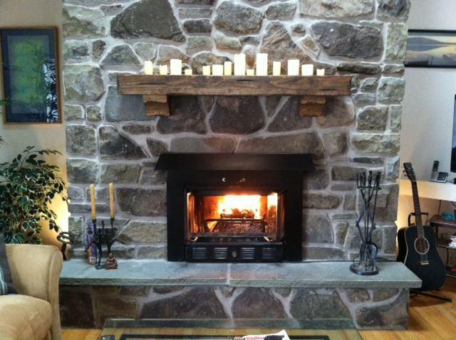 Fireplace - Beautiful townhouse - Roxbury - rentals