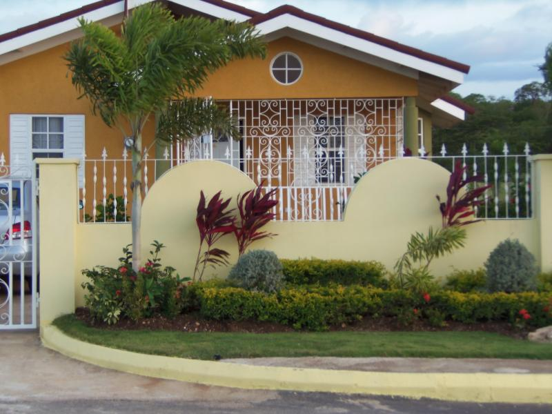 "Front View of Property - ""THE REAL JAMAICAN EXPERIENCE""  IN FALMOUTH - Falmouth - rentals"